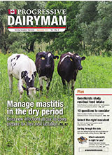 Progressive Dairyman Canada Issue 9 2014