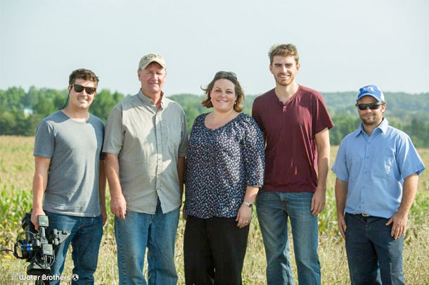 Tyler Mifflin, Jim McCormick, Lisa Fast, Alex Mifflin and Nate Hartway