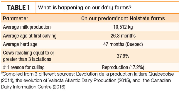 What is happening on our dairy farms?