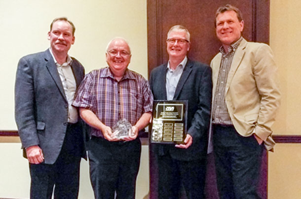 Russel Gammon receives 2017 Dairy Cattle Improvement Industry Distinction Award