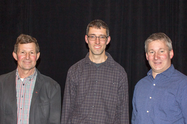 three dairy producers that have achieved high Herd Management Scores discussed their management strategies