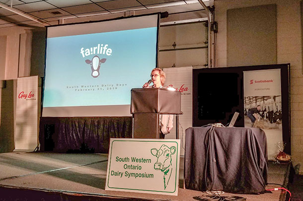 Carolyn Novick, director of fairlife