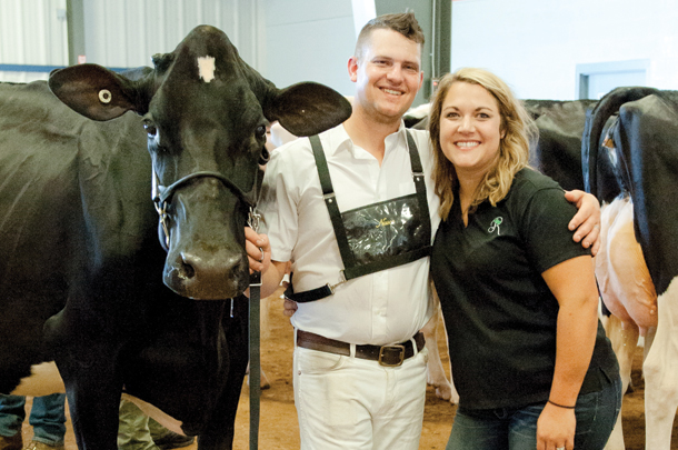 Reyncrest Farm in Corfu, New York, knows a thing or two about growing champion show heifers
