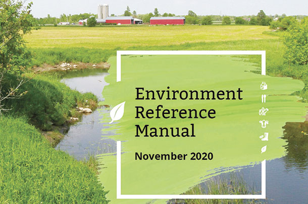 Environment reference manual